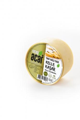 Tam Yaðlý Kelle Kaþar Peynir 900 gr- 1 Kg